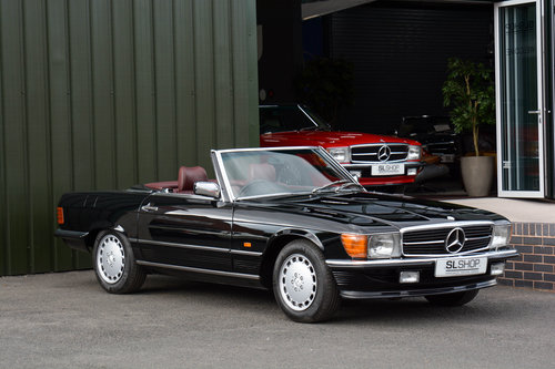 1989 MERCEDES-BENZ 300 SL   STOCK #2022 For Sale   Car And Classic