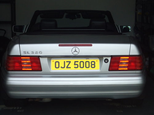 1997  Mercedes SL320 Automatic (5 Speed) For Sale (picture 5 of 5)