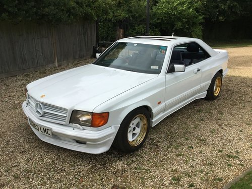 1987 Mercedes 560 SEC AMG WIDE BODY For Sale (picture 1 of 6)