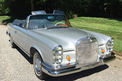 1967 Mercedes 250SE Cabriolet For Sale (picture 1 of 6)