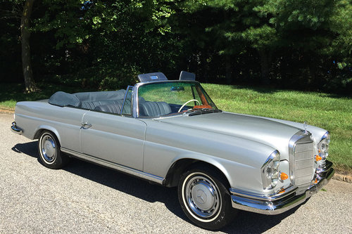 1967 Mercedes 250SE Cabriolet For Sale (picture 2 of 6)
