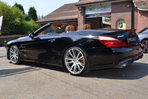 2013 Mercedes Brabus 800 1 of 1 RHD ever made. For Sale (picture 4 of 6)