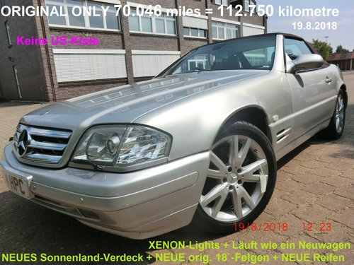 Mercedes R129 129 SL500 500 4-2001 COLLECTOR CAR! For Sale (picture 1 of 6)