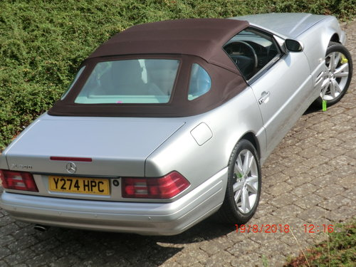 Mercedes R129 129 SL500 500 4-2001 COLLECTOR CAR! For Sale (picture 5 of 6)