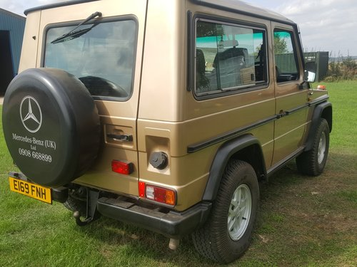 Mercedes Benz G Wagon 280GE Petrol Manual 1987 For Sale (picture 2 of 6)