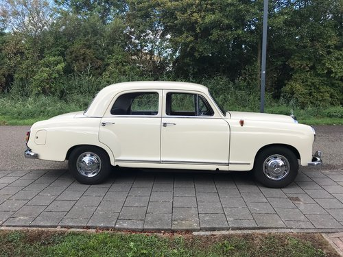 1957 Verry nice Mercedes oldtimer For Sale (picture 1 of 6)