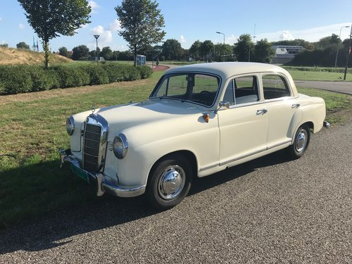 1957 Verry nice Mercedes oldtimer For Sale (picture 2 of 6)