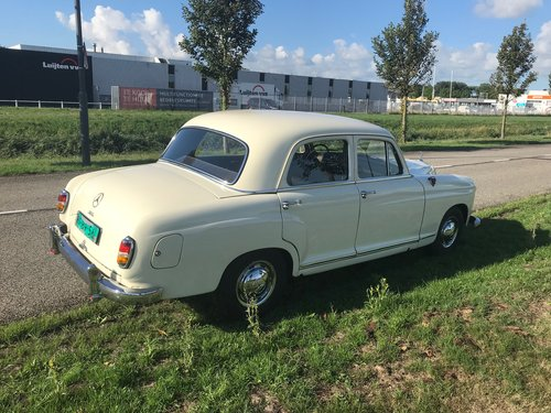 1957 Verry nice Mercedes oldtimer For Sale (picture 6 of 6)