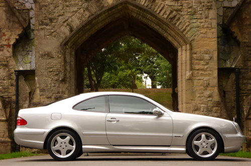 2000 Mercedes Benz CLK 55 AMG V8 COUPE (Just 60734 miles) For Sale (picture 5 of 6)