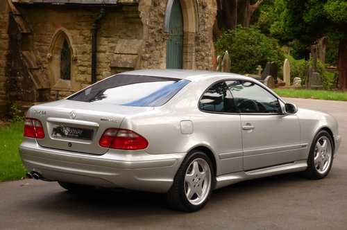 2000 Mercedes Benz CLK 55 AMG V8 COUPE (Just 60734 miles) For Sale (picture 6 of 6)