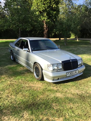 1989 Mercedes 300CE Twin Turbo W124 Brabus For Sale (picture 1 of 6)
