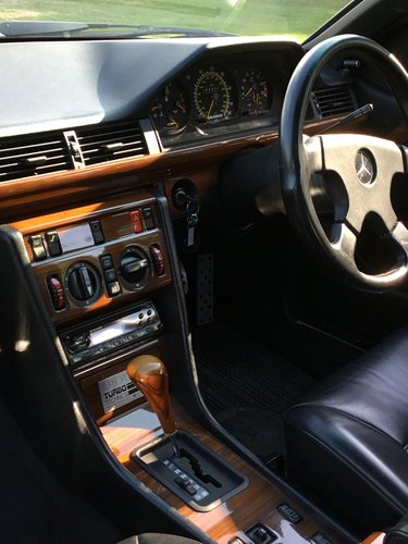 1989 Mercedes 300CE Twin Turbo W124 Brabus For Sale (picture 4 of 6)