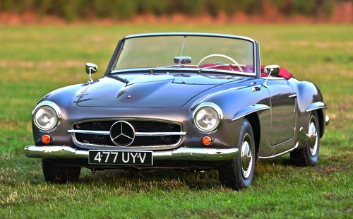 1958 Mercedes Benz 190SL Left Hand Drive For Sale (picture 1 of 6)