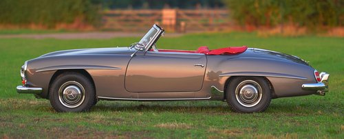 1958 Mercedes Benz 190SL Left Hand Drive For Sale (picture 3 of 6)