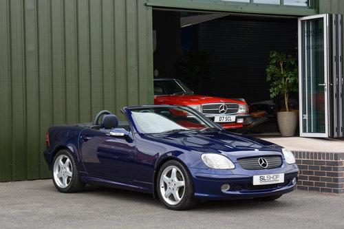 2001 MERCEDES-BENZ SLK 320 | STOCK #1985 For Sale (picture 1 of 6)