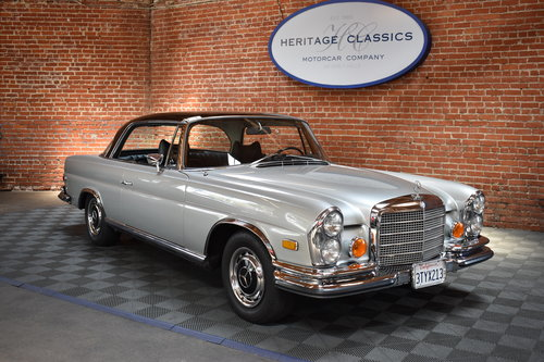 1970 1971 Mercedes Benz 280 SE 3.5 Coupe For Sale (picture 1 of 6)