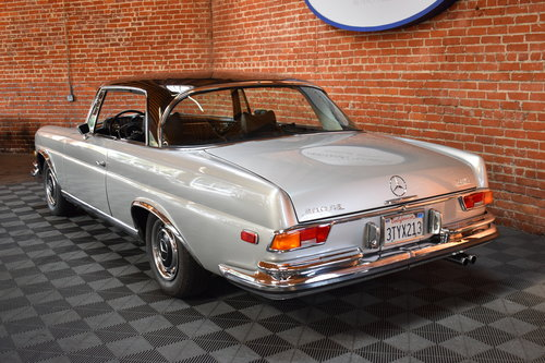 1970 1971 Mercedes Benz 280 SE 3.5 Coupe For Sale (picture 2 of 6)