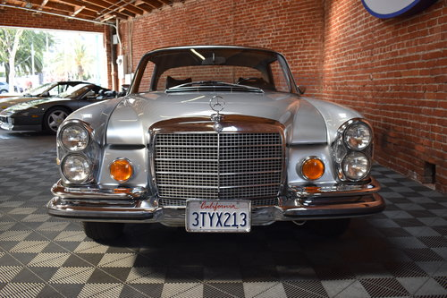 1970 1971 Mercedes Benz 280 SE 3.5 Coupe For Sale (picture 3 of 6)