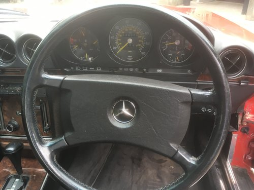 1985 MERCEDES BENZ R107 SL300  1987 For Sale (picture 4 of 6)