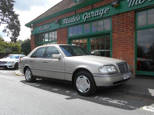 1997 Mercedes C180 Elegance Automatic SOLD (picture 2 of 5)