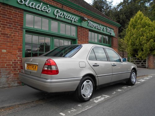 1997 Mercedes C180 Elegance Automatic SOLD (picture 3 of 5)