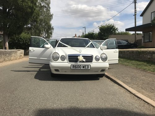 1998 Mercedes 6 Door Limousine E250D (In White) For Sale (picture 3 of 6)