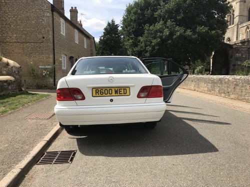 1998 Mercedes 6 Door Limousine E250D (In White) For Sale (picture 4 of 6)