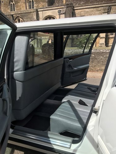 1998 Mercedes 6 Door Limousine E250D (In White) For Sale (picture 5 of 6)