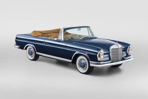 1964 Mercedes-Benz 300SE Cabriolet RHD For Sale (picture 1 of 6)