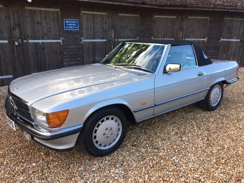 1989 Mercedes 300 SL ( 107-series ) For Sale (picture 1 of 6)