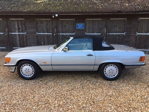 1989 Mercedes 300 SL ( 107-series ) For Sale (picture 2 of 6)