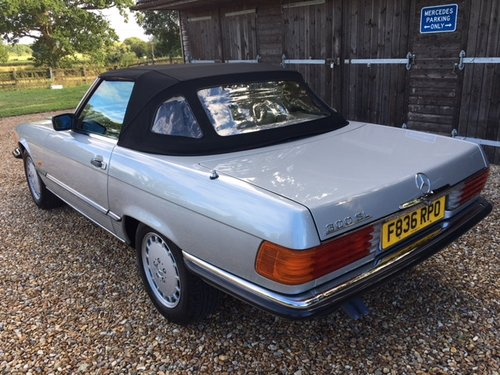 1989 Mercedes 300 SL ( 107-series ) For Sale (picture 3 of 6)