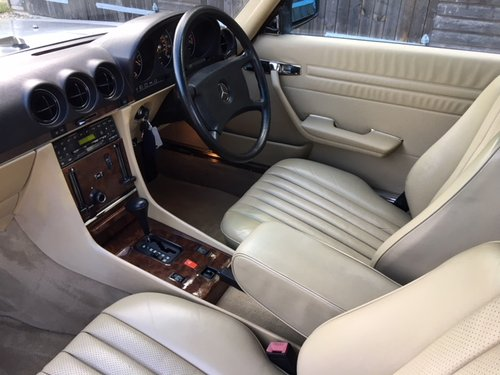 1989 Mercedes 300 SL ( 107-series ) For Sale (picture 4 of 6)