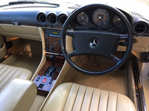 1989 Mercedes 300 SL ( 107-series ) For Sale (picture 5 of 6)