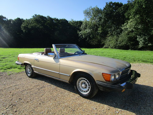 1982 Mercedes R107 380sl LHD 112k miles. For Sale (picture 2 of 6)