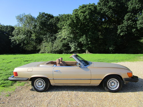 1982 Mercedes R107 380sl LHD 112k miles. For Sale (picture 3 of 6)