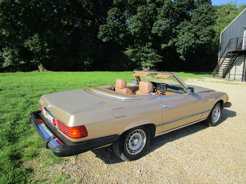 1982 Mercedes R107 380sl LHD 112k miles. For Sale (picture 6 of 6)