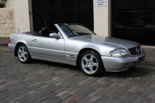 1998 Mercedes-Benz SL Class 3.2 SL320 2dr Low Mileage, SOLD (picture 1 of 6)