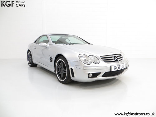 2005 A Rare and Powerful Mercedes-Benz SL65 AMG (R230) SOLD (picture 1 of 6)