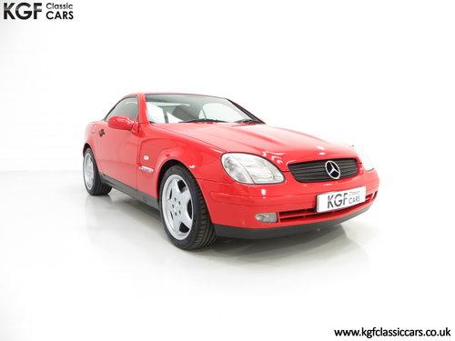 1999 A Stunning Mercedes-Benz SLK230 Kompressor (R170) SOLD (picture 1 of 6)