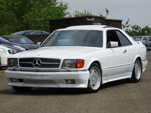 1990 Mercedes-Benz 560 5.5 SEC 2dr 560 SEC COUPE LHD AMG PACK For Sale (picture 1 of 6)