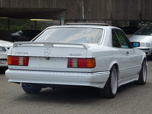 1990 Mercedes-Benz 560 5.5 SEC 2dr 560 SEC COUPE LHD AMG PACK For Sale (picture 3 of 6)