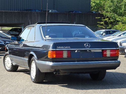 1989 Mercedes-Benz 560 5.5 SEC 2dr W126 560 SEC LHD + LOW MILES For Sale (picture 1 of 6)