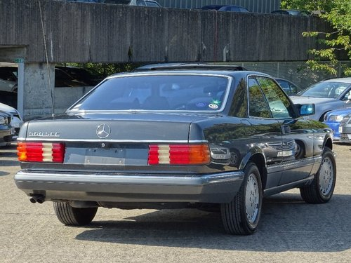1989 Mercedes-Benz 560 5.5 SEC 2dr W126 560 SEC LHD + LOW MILES For Sale (picture 2 of 6)