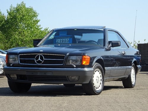 1989 Mercedes-Benz 560 5.5 SEC 2dr W126 560 SEC LHD + LOW MILES For Sale (picture 3 of 6)