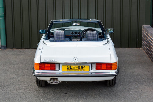 1986 Mercedes-Benz 300SL (R107) #2041 For Sale (picture 6 of 6)