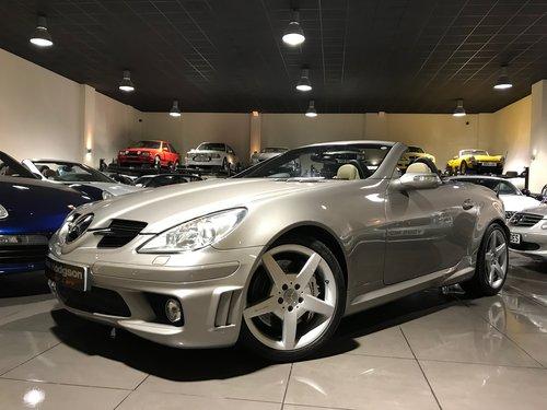 2006 Mercedes Benz Slk55 Amg Cubanite Silver Sat Nav Sold