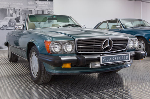 1988 Mercedes-Benz 560 SL LHD  For Sale (picture 1 of 6)
