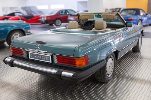 1988 Mercedes-Benz 560 SL LHD  For Sale (picture 3 of 6)