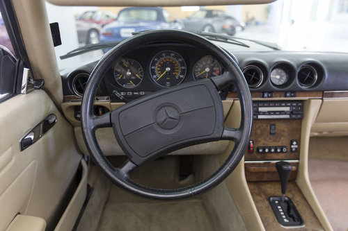 1988 Mercedes-Benz 560 SL LHD  For Sale (picture 5 of 6)